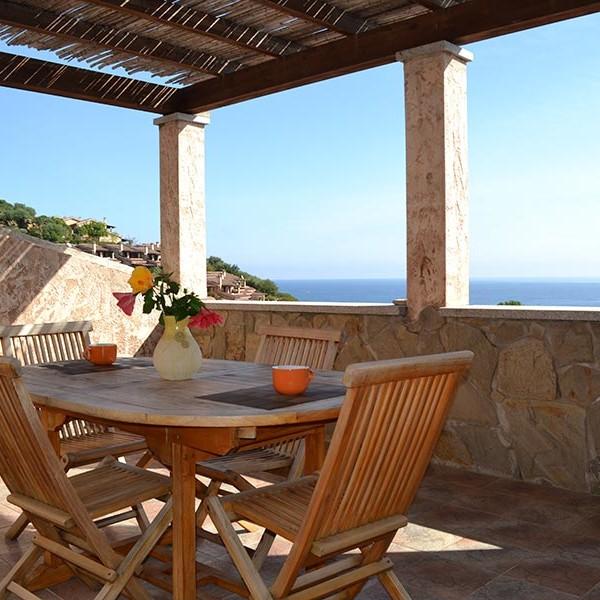 Villas – Maisonnettes Porto Corallo Vue panoramique