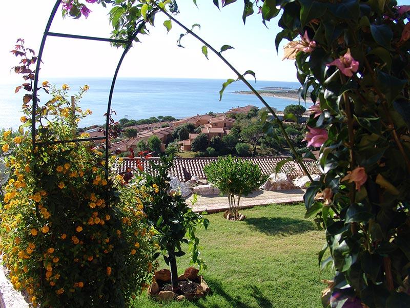 VAlojamientos y villas vacaciones Cerdeña sureste Porto Corallo