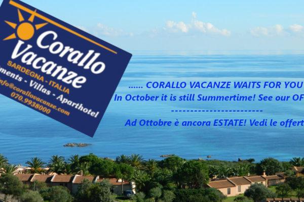 Offerte Ottobre Porto Corallo Sardegna