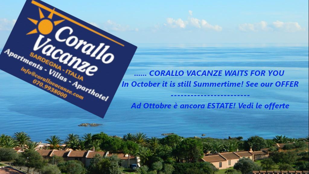 October offers Porto Corallo - Sardinia