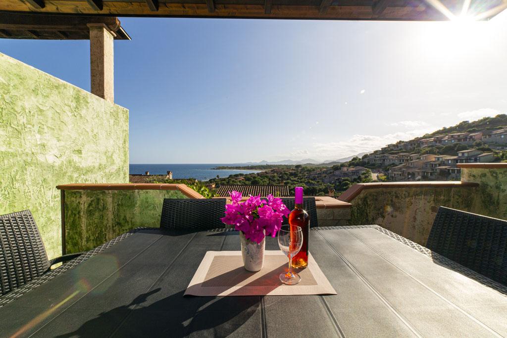 corallo vacanze: quadrilocale veranda porto corallo