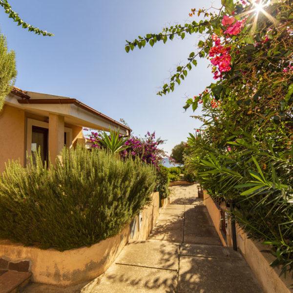 casa vacanza -appartamento porto corallo - esterno