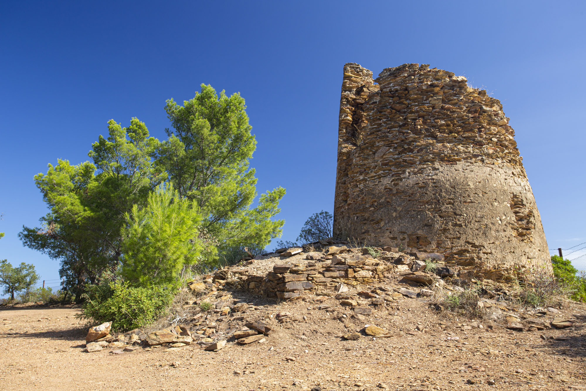 Porto Corallo Spanish Tower