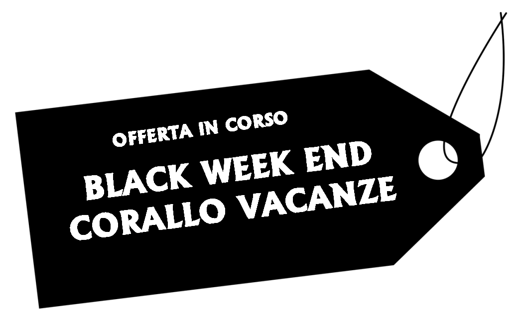 black week end corallo vacanze
